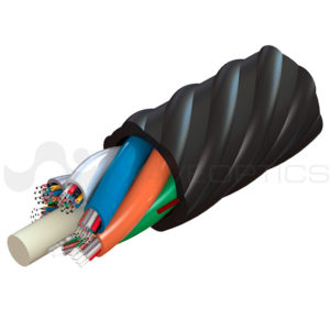 cable para fibra soplada abf multitubo