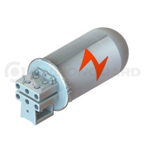Cierre de Empalme Domo Aluminio 144 Fibra